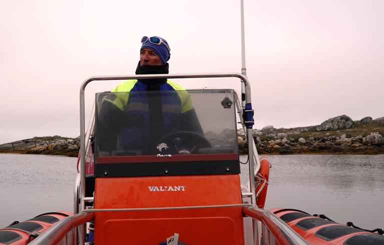 Puerto de Nanortalik, extremo sur de Groenlandia.
