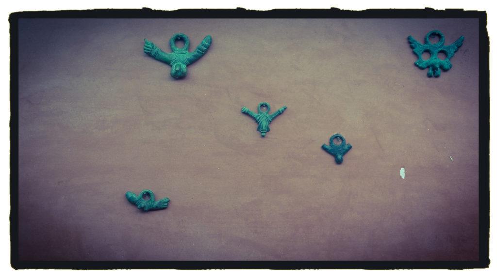 Amuletos falicos en el MNAR (A. Briz)