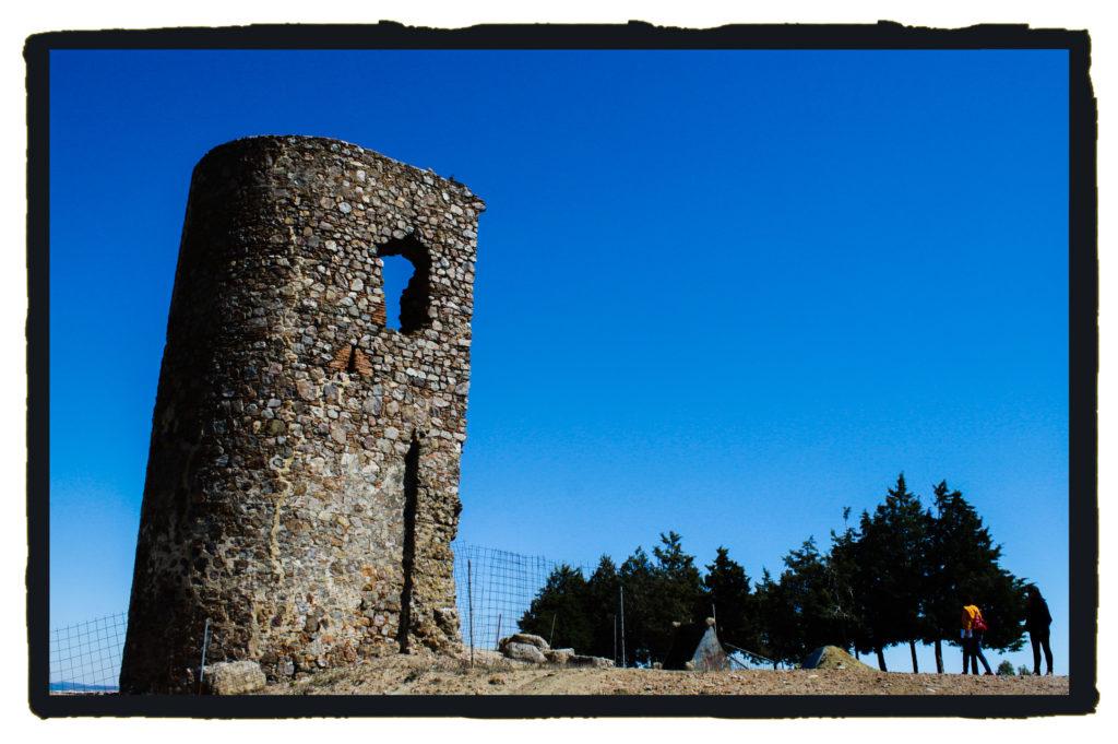 Castillo de Miramontes, en Azuaga