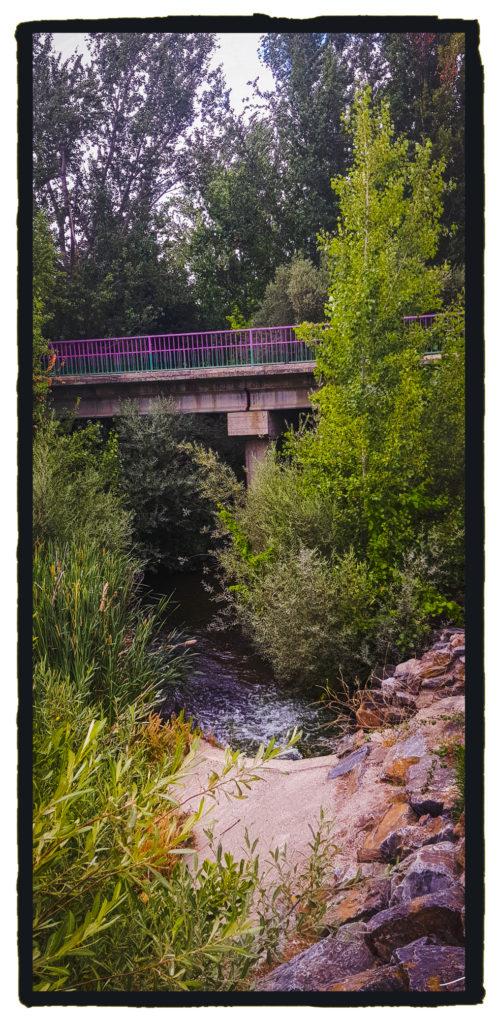 El puente de Niebla, tranformado  y moderno, acoge en sus aguas la sangre de los Monroy (Israel J. Espino)