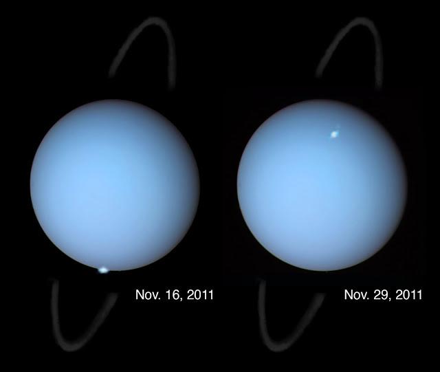Anillos Urano (NASA)