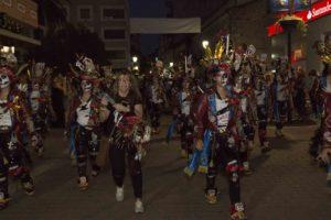 Desfile de la comparsa Wailuku en Expocarnaval