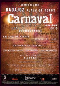 Cartel Carnaval del Sur