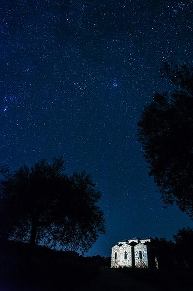 Santa Lucía bajo las estrellas./ Víctor Gibello