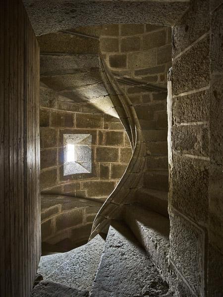 Escalera de la sacristía./ Víctor Gibello.
