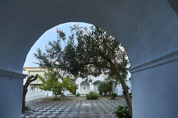 Vista del área del albergue./ Víctor Gibello