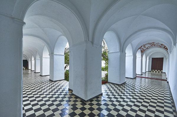Interior de la galería perimetral./ Víctor Gibello