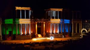 Teatro Romano Mérida- estreno La Comedia